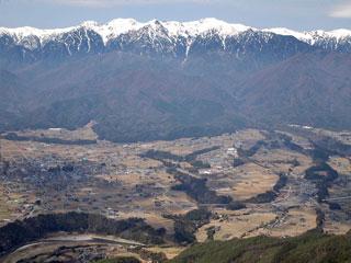 「陣馬形山」長野県中川村